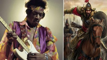 Jimi Hendrix as Genghis Khan